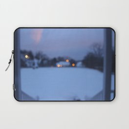 Lights Guide Me Home Laptop Sleeve