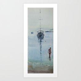 Morning at Sea Art Print