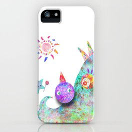 Hate me for it  iPhone Case