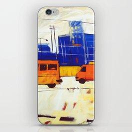 Yellow Buses iPhone Skin