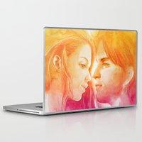 valentine Laptop & iPad Skins featuring Valentine by Aurora Wienhold