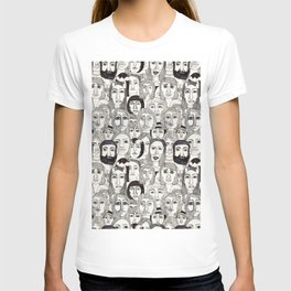 Faces in the Tube T-shirt