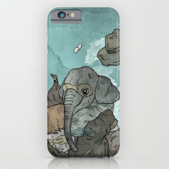 A dream about robbing a bank together iPhone & iPod Case