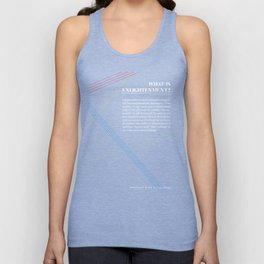 Philosophia I: What is Enlightenment? Unisex Tank Top