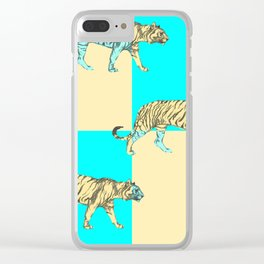 Tiger, tiger Clear iPhone Case