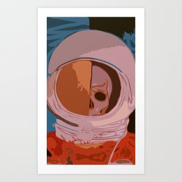 Decay of Exploration Art Print