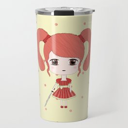 Aries Girl Travel Mug