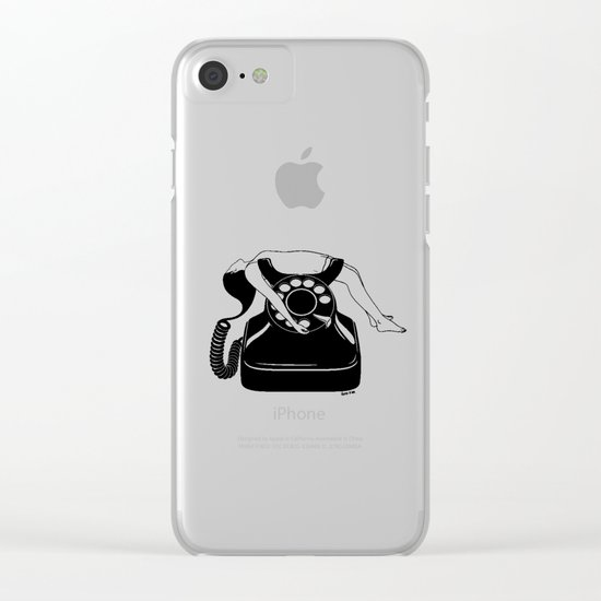 Ring My Bell Clear iPhone Case