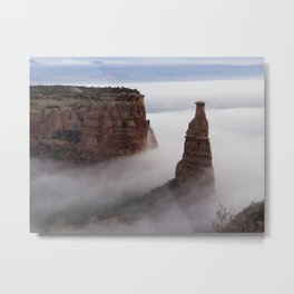 Independence in the Clouds Metal Print