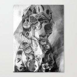 Schizophrenia Canvas Print