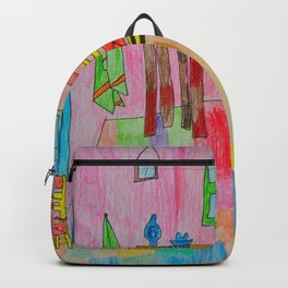 Colorful Bedroom #society6 Backpack