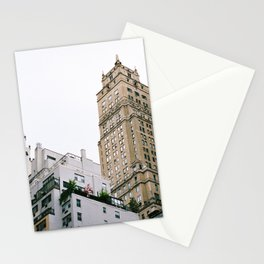 nyc rooftops Stationery Cards