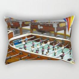 Soccer tables Rectangular Pillow