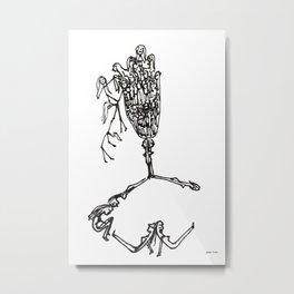 Imaginal Cells Metal Print
