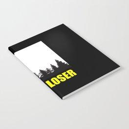 Get in loser funny alien quote Notebook