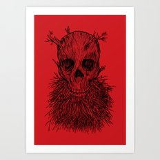 The Lumbermancer Art Print