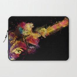 guitar art 8 #guitar #art #music Laptop Sleeve