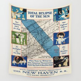 Vintage poster - New Haven Railroad Wall Tapestry