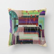 Casette Music 1981 Throw Pillow