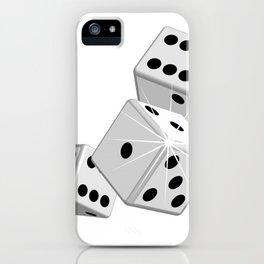 Dice gambling game iPhone Case