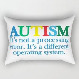 Autism Operating System Rectangular Pillow