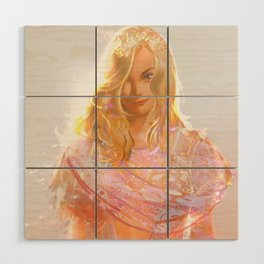 """Aphrodite (""""Charm of of the Ancient Enchantress"""" Series) Wood Wall Art"""