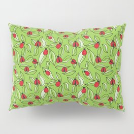 Ladybugs and Leaves Pillow Sham