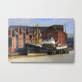 Arctic Corsair, Hull Trawler 2012 Metal Print