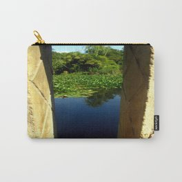 Framing a Pond Carry-All Pouch