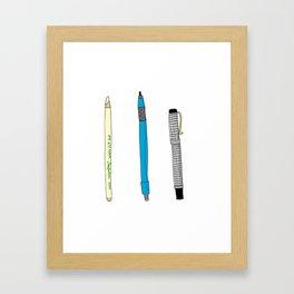 Drawing Tools Framed Art Print