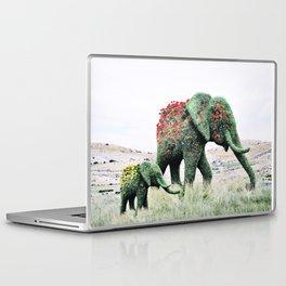 Blossom Elephants Laptop & iPad Skin