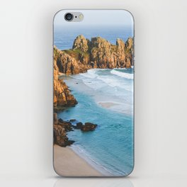 Cornish Coastal Sunset iPhone Skin