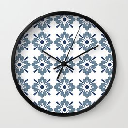 Floral pattern 2 Wall Clock