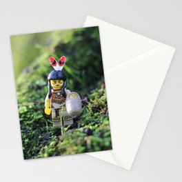Native American Woman Stationery Cards