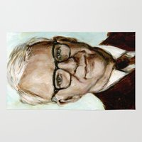 lydia martin Area & Throw Rugs featuring Steve Martin by Heather Buchanan