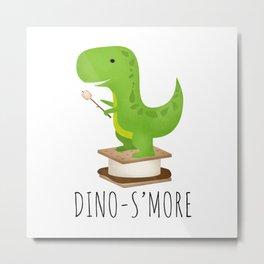Dino-S'more Metal Print