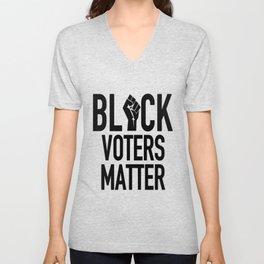 Black Voters Matter Unisex V-Neck