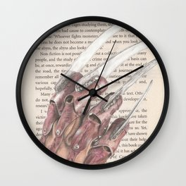 The Stuff of Nightmares Wall Clock