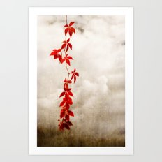 The Feel Of Autumn Art Print