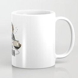 Dogecoin To The Moon Funny Crypto Coffee Mug