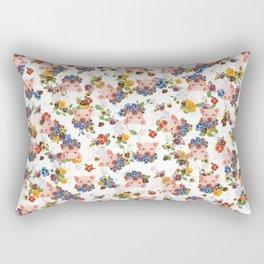 Pansy Pig Rectangular Pillow