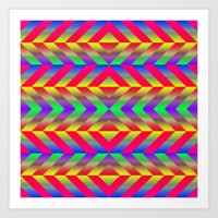 psychedelic Art Prints featuring Psychedelic by Texture