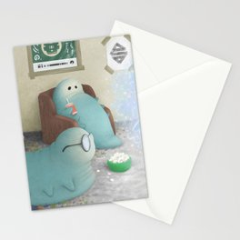 Wog-Jop Worms Stationery Cards