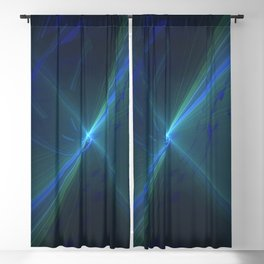 Geometric Cosmic Light 74 Blackout Curtain