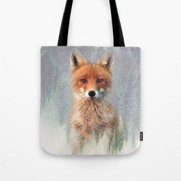 Vanishing Fox Tote Bag