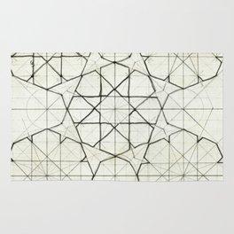 Geometry Sketch Nine Rug