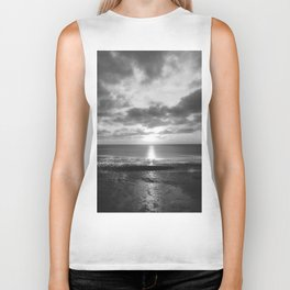 Sunset in Cape Cod Biker Tank