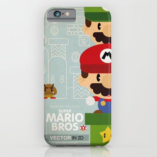mario bros 2 fan art iPhone & iPod Case