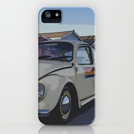 Southend on Sea Beach Huts Homage iPhone Case