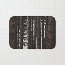 Through the Trees - Nature Photography Bath Mat